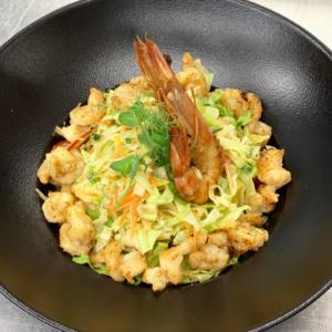 Salata cu creveti satu mare restaurant