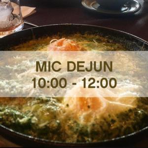 MIC DEJUN (10:00-12:00)